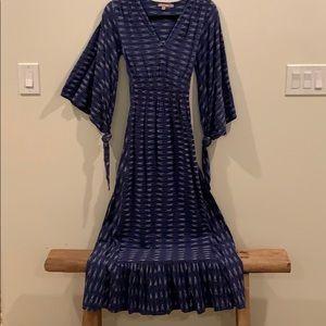 Calypso boho long dress